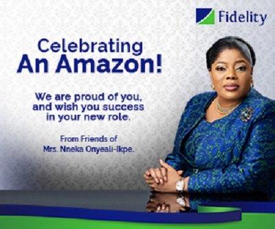MRS. NNEKA ONYEALI-IKPE ESQ.; NEW MD/CEO OF FIDELITY BANK