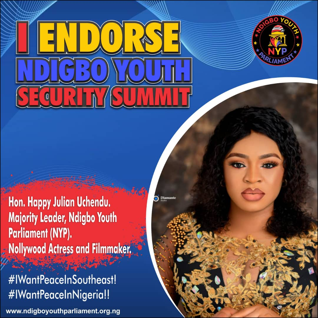 Ndigbo Youth Security Summit: Royals and Celebrities Endorse