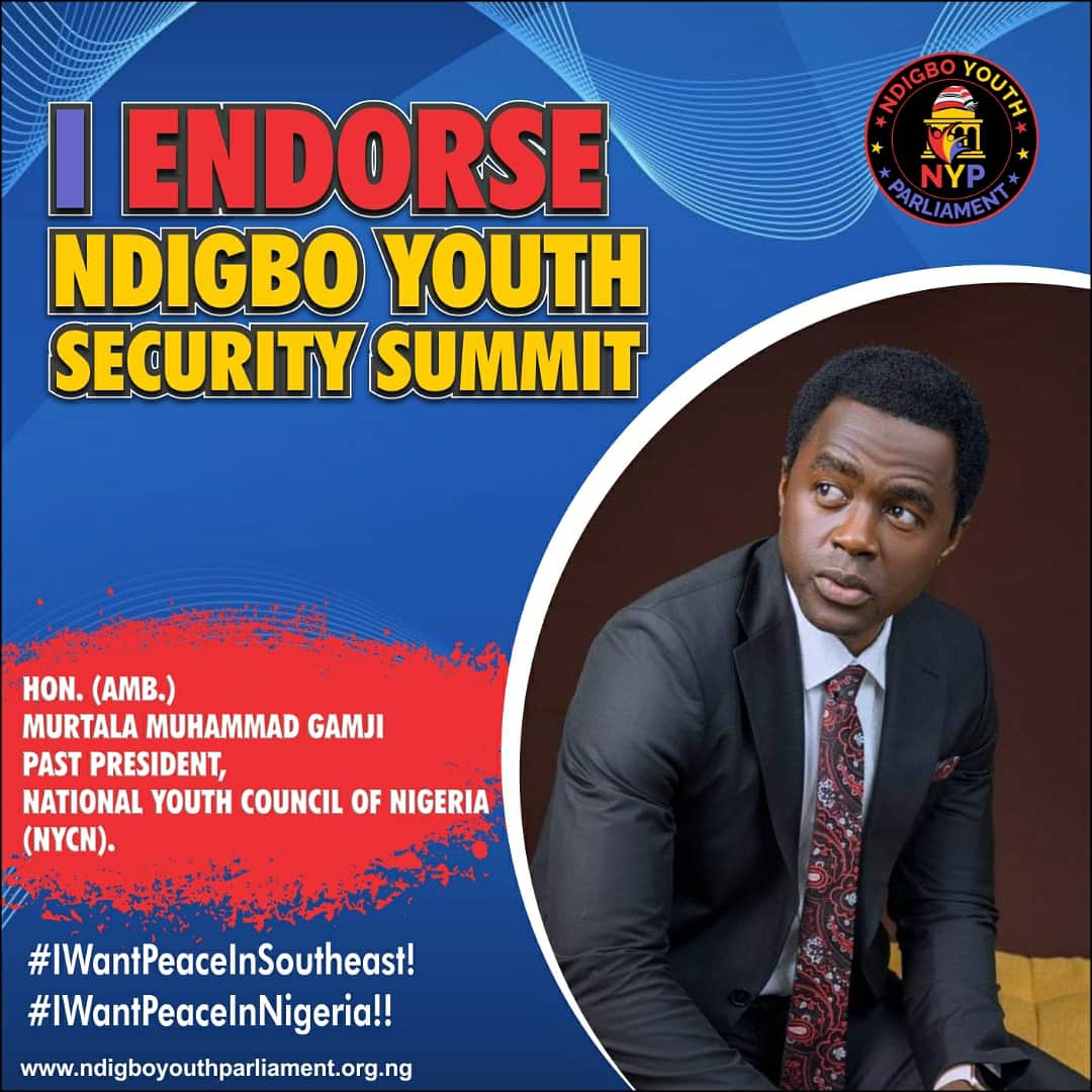 Ndigbo Youth Security Summit: Youth Leaders Endorse