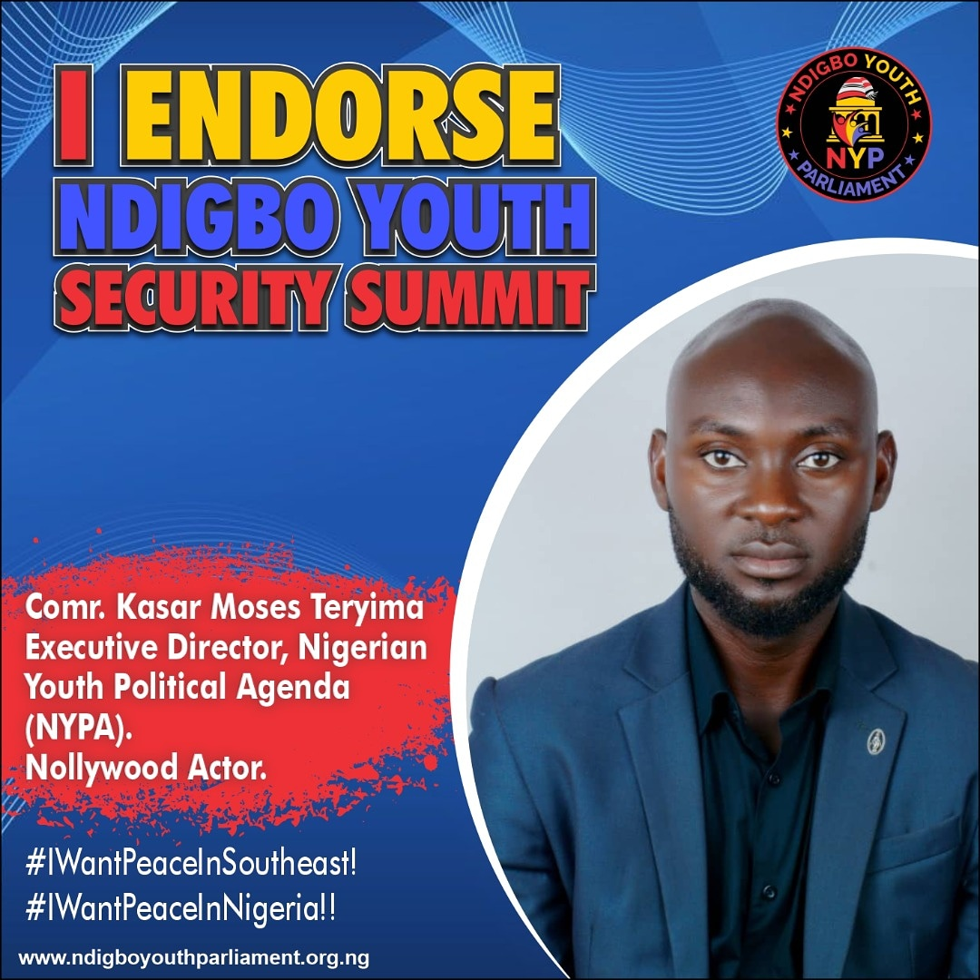 Ndigbo Youth Security Summit: Various Youth Leaders Endorse