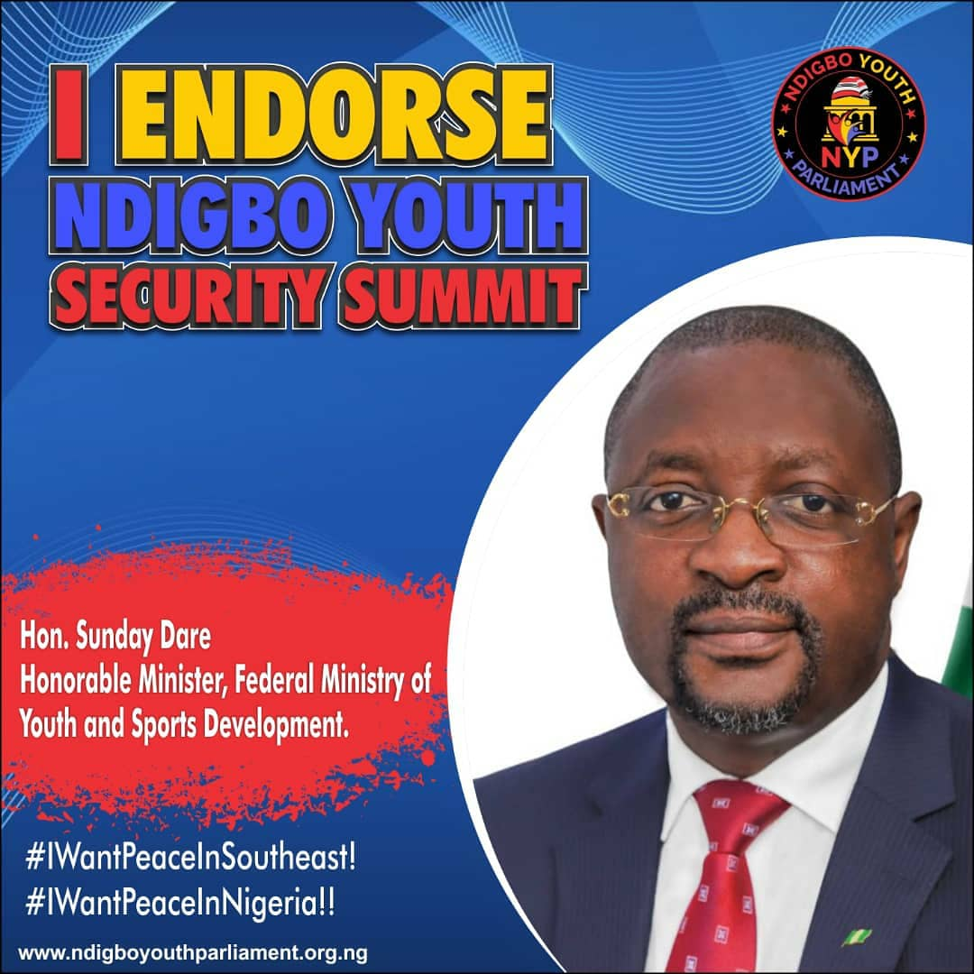 Ndigbo Youth Security Summit: Resource Persons Endorse